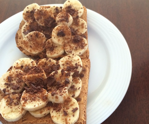 bananas, chocolate, and Cinnamon image