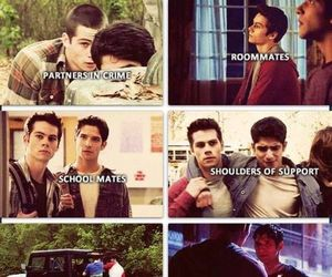 teen wolf, tyler posey, and brothers image