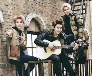exo, luhan, and d.o image