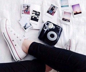 fashion, instax, and shoes image
