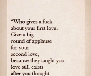 love, quote, and applause image