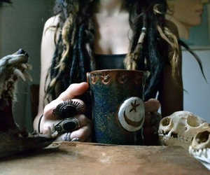 grunge, indie, and dreads image