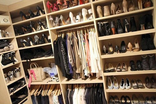 closet, clothes, and paradise image