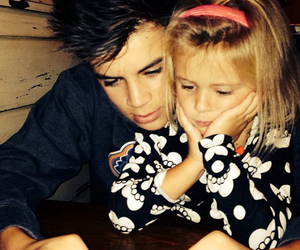 hayes grier, skylynn, and hayes image