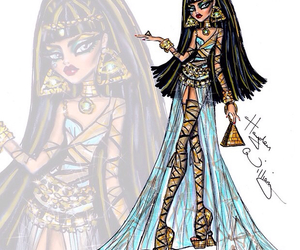 cleopatra, desing, and doll image