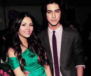 boy, girl, and victoria justice image