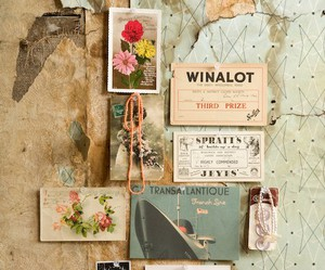 vintage, flowers, and old image