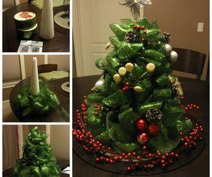 diy, christmas tree, and tutorial image