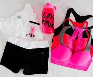 pink, fitness, and workout image