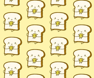 background, bread, and food image