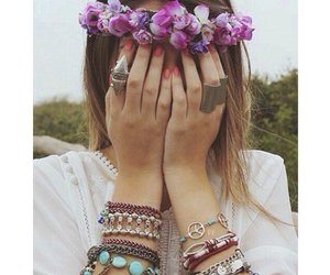 1, flowers, and girly image