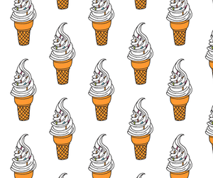 background, ice cream, and food image