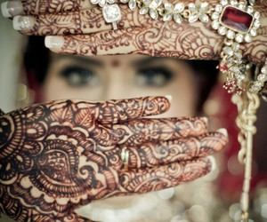 henna, jewelry, and style image