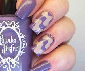 lavender, lovely, and nail art image