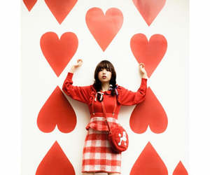 art, fashion, and hearts image