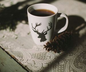coffee, vintage, and cozy image
