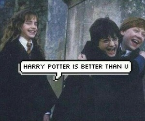 harry potter, true, and funny image