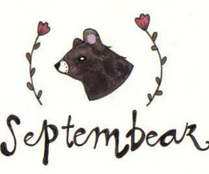 bear, month, and cute image