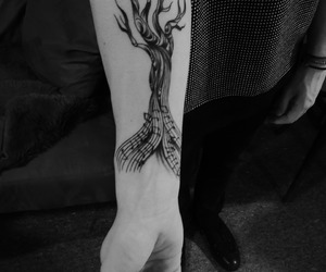 ink, tattooed, and inked image