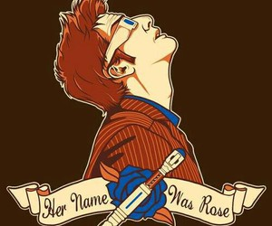 david tennant, doctor who, and rose image