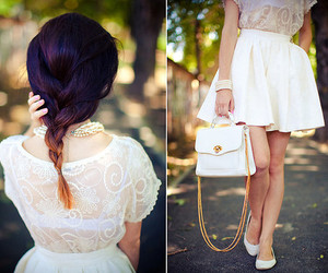 fashion, cute, and white image