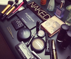 black, nars, and NYX image