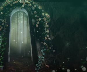 fantasy and flowers image
