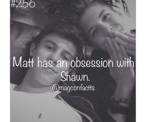 obsession, shawnmendes, and matthewespinosa image