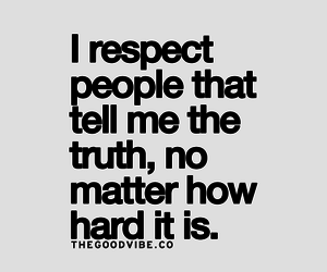 respect, truth, and people image