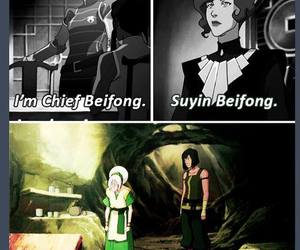 avatar, toph, and lin image