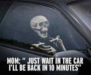 mom, funny, and car image
