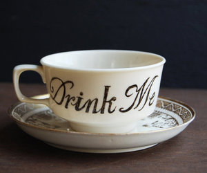 alice in wonderland, drink me, and animated image