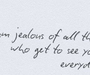 quote, jealous, and everyday image