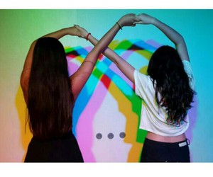 amigas, photos, and best friends image