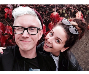 autumn, tyler oakley, and fall image