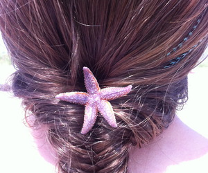 hair and starfish image