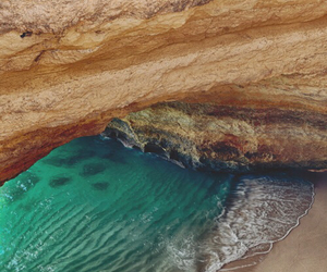 algarve, cave, and europe image