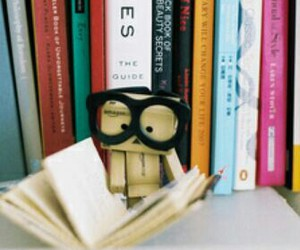 books, cute, and danbo image