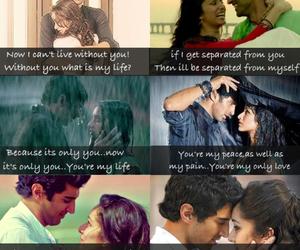 bollywood, romance, and love sayings image