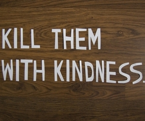 kindness, kill, and quote image