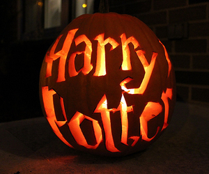 harry potter, Halloween, and pumpkin image