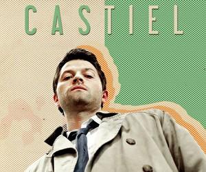 supernatural, spn, and castiel image