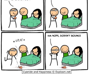 funny, cyanide and happiness, and lol image