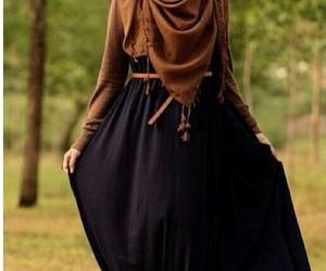 beautiful, dress, and islam image