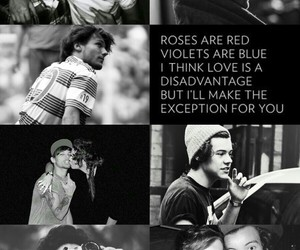 black and white, Collage, and lourry image