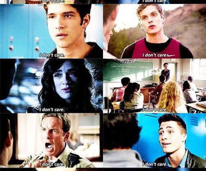 teen wolf, i don't care, and isaac image