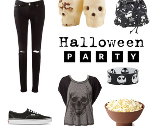 Halloween, party, and Polyvore image