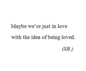love, deep, and quote image