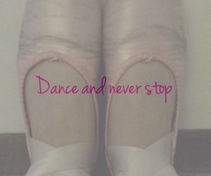 dance, pointe shoes, and feet image