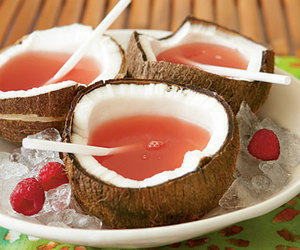 coconut, drink, and food image